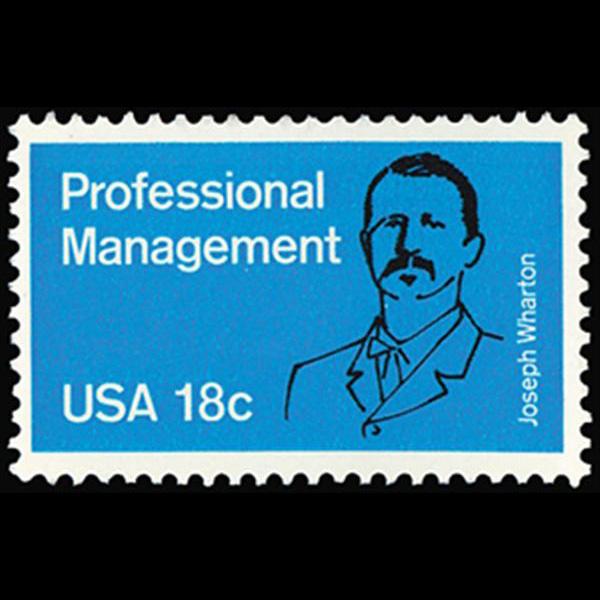 1981 18c Professional Management Mint Single
