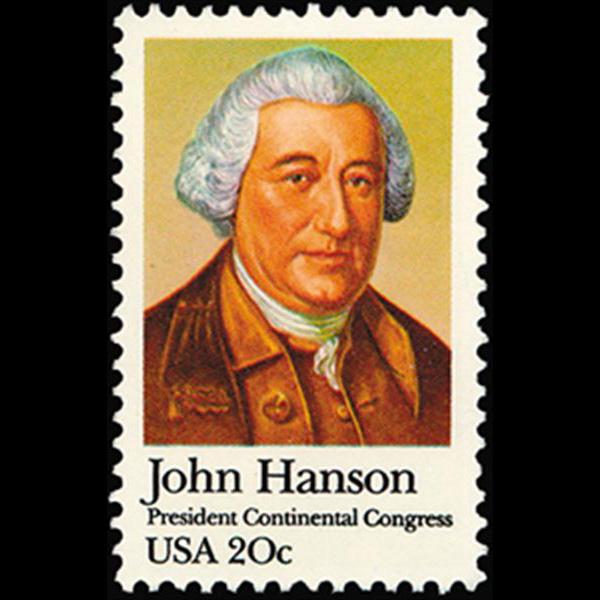 1981 20c John Hanson Mint Single