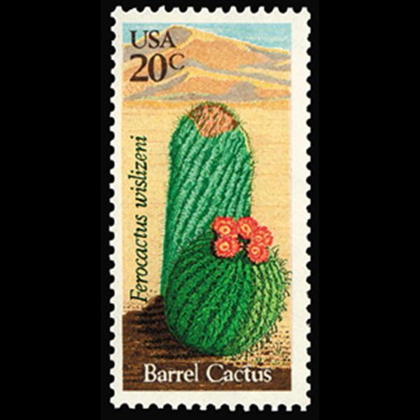 1981 20c Barrel Cactus Mint Single