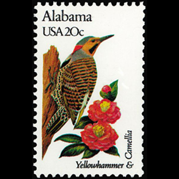 1982 20c Alabama Mint Single