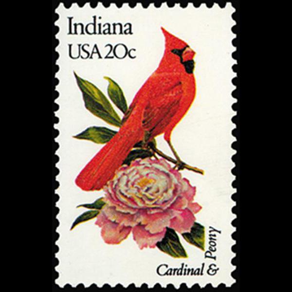 1982 20c Indiana Mint Single