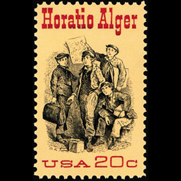 1982 20c Horatio Alger Mint Single