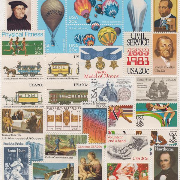 1983 Commemorative Mint Year Set