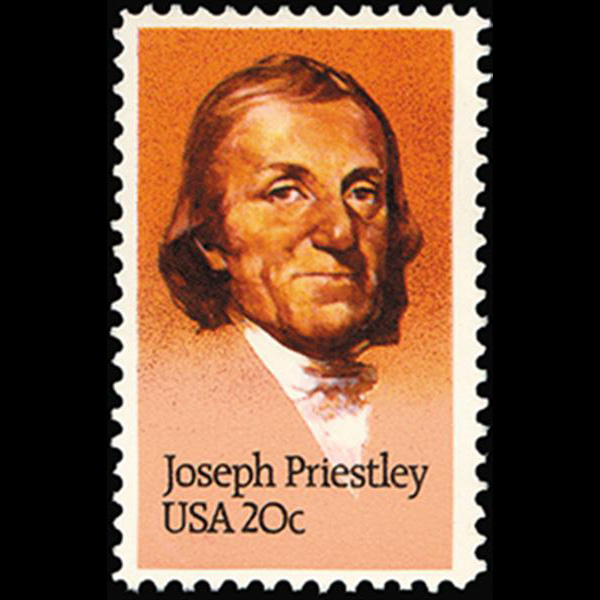 1983 20c Joseph Priestley Mint Single