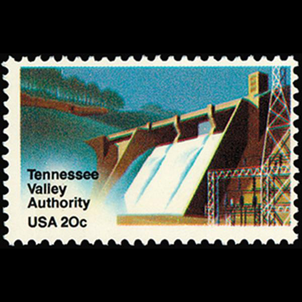 1983 20c Tennessee Valley Authority Mint Single