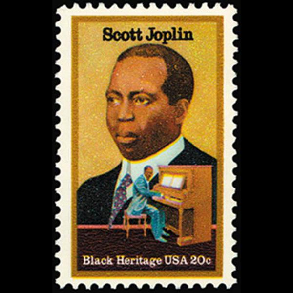 1983 20c Scott Joplin Mint Single