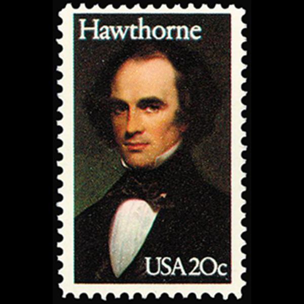 1983 20c Nathaniel Hawthorne Mint Single