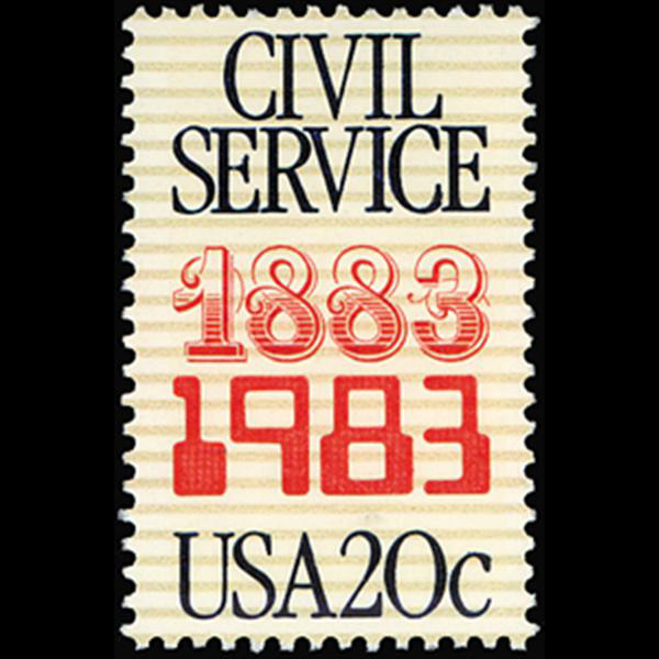 1983 20c Civil Service Mint Single