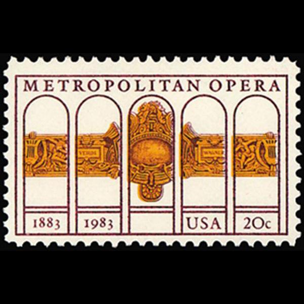 1983 20c Metropolitan Opera Mint Single