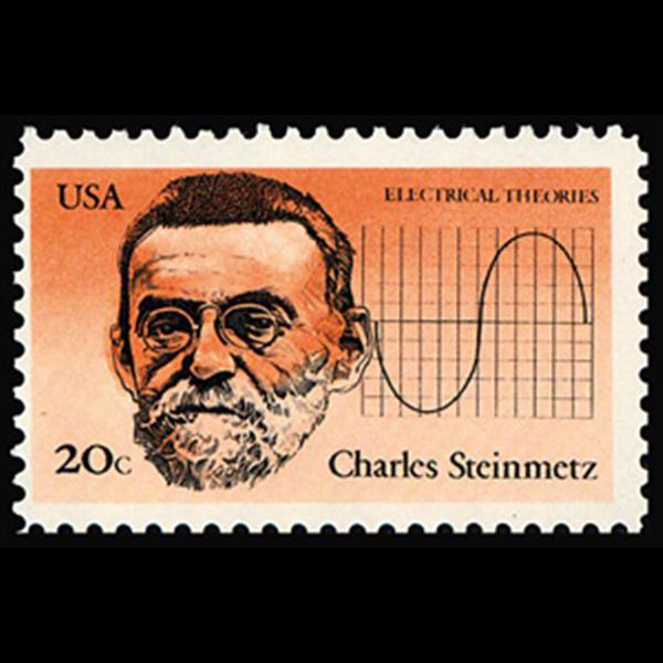 1983 20c Charles Steinmetz Mint Single