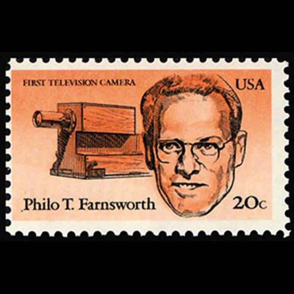 1983 20c Philo T. Farnsworth Mint Single