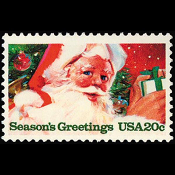1983 20c Santa Claus Mint Single