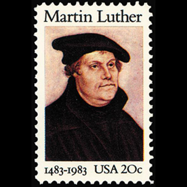 1983 20c Martin Luther Mint Single