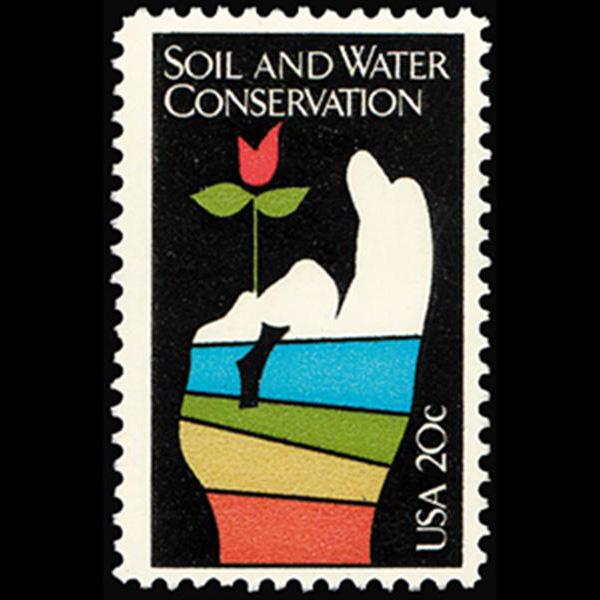 1984 20c Conservation Mint Single