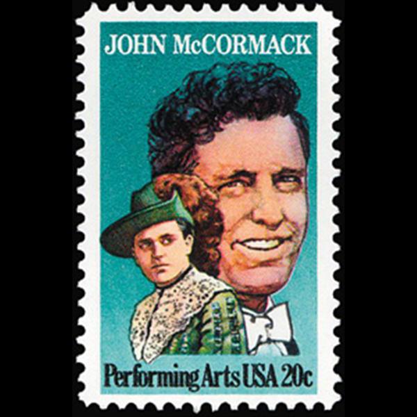 1984 20c John McCormack Mint Single