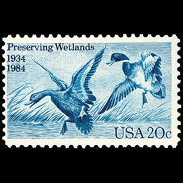 1984 20c Preserving Wetlands Mint Single