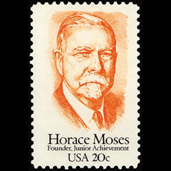 1984 20c Horace Moses Mint Single