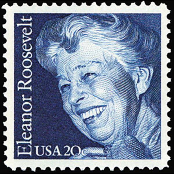 1984 20c Eleanor Roosevelt Mint Single