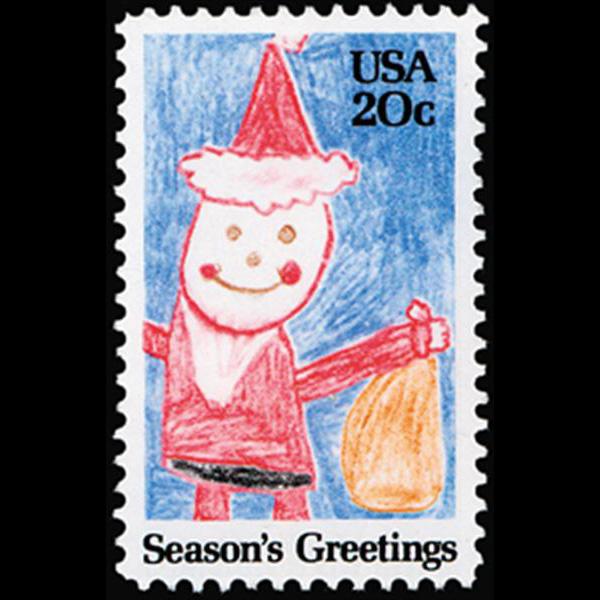 1984 20c Santa Claus Mint Single