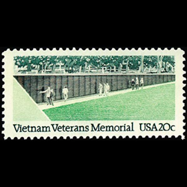 1984 20c Vietnam Veterans Mint Single
