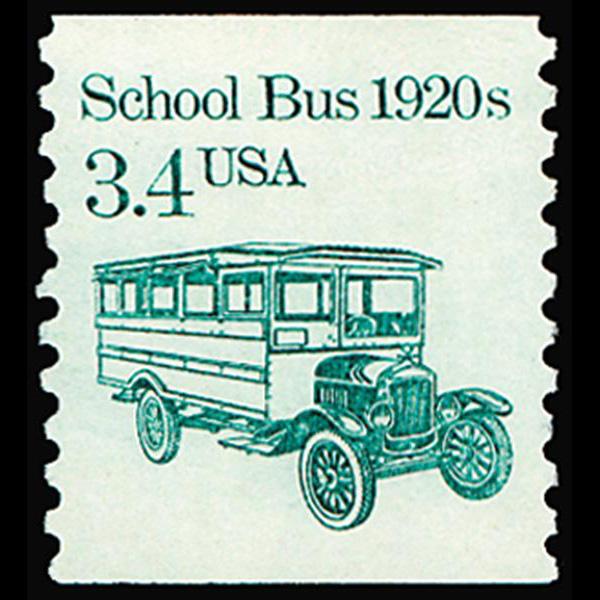 1985 3.4c School Bus Mint Single