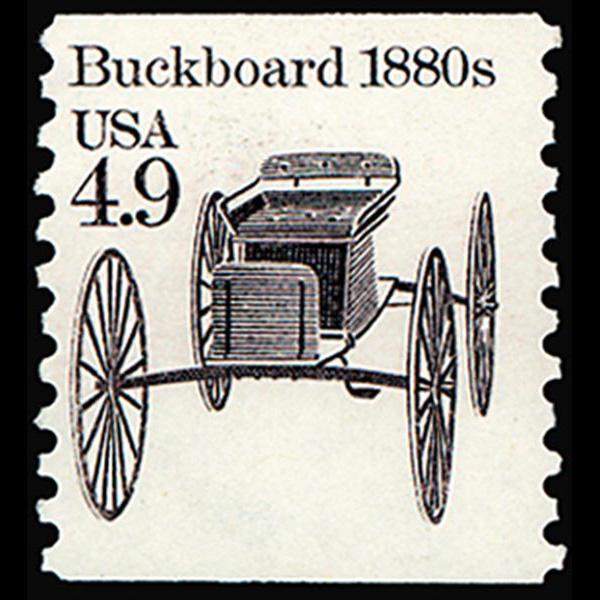 1985 4.9c Buckboard Mint Single