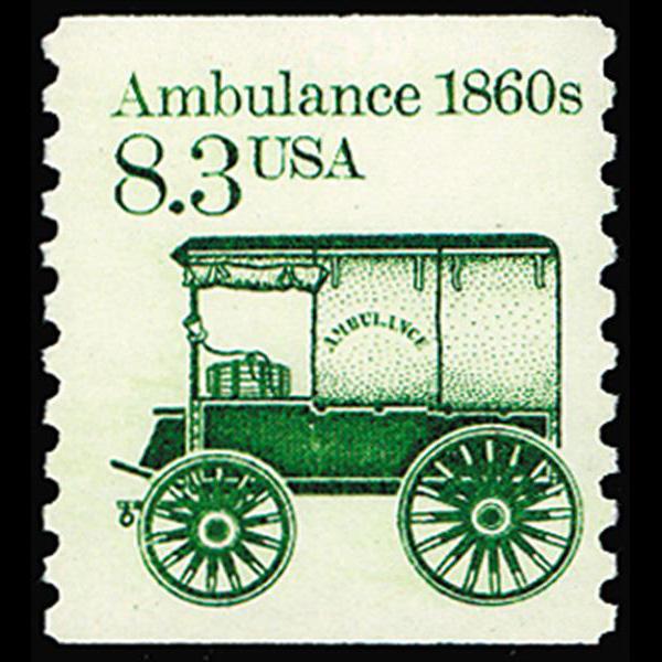 1985 8.3c Ambulance Mint Single