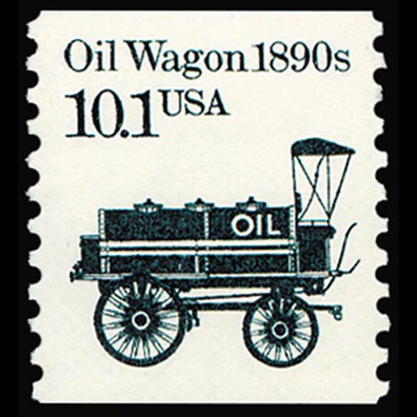 1985 10.1c Oil Wagon Mint Single