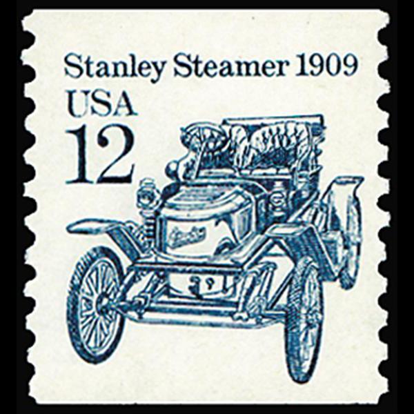 1985 12c Stanley Steamer Mint Single