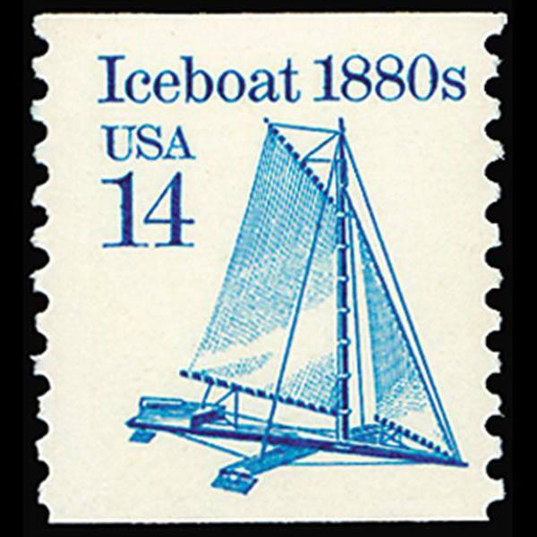 1985 14c Iceboat Mint Single