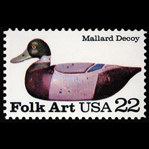 1985 22c Mallard Mint Single