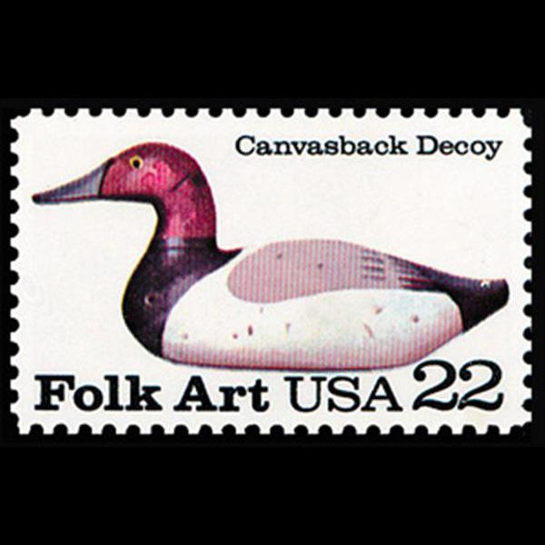 1985 22c Canvasback Mint Single