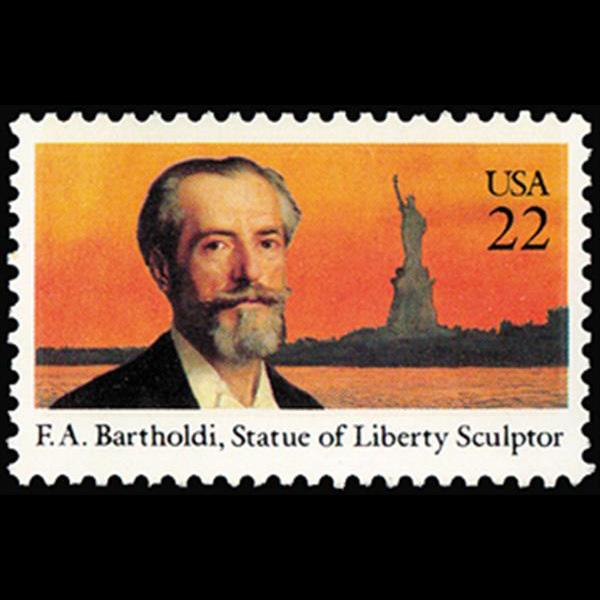 1985 22c Frederic Bartholdi Mint Single
