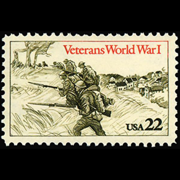 1985 World War I Veterans Mint Single