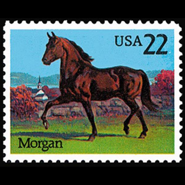 1985 22c Morgan Mint Single