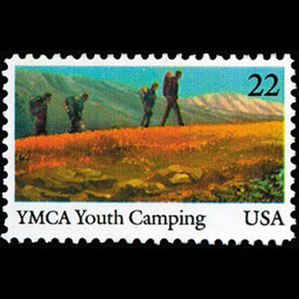1985 22c YMCA Mint Single