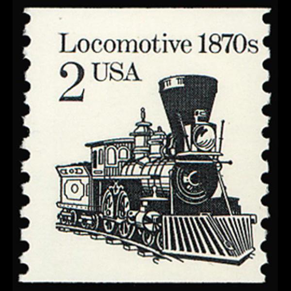 1986 2c Locomative Mint Single