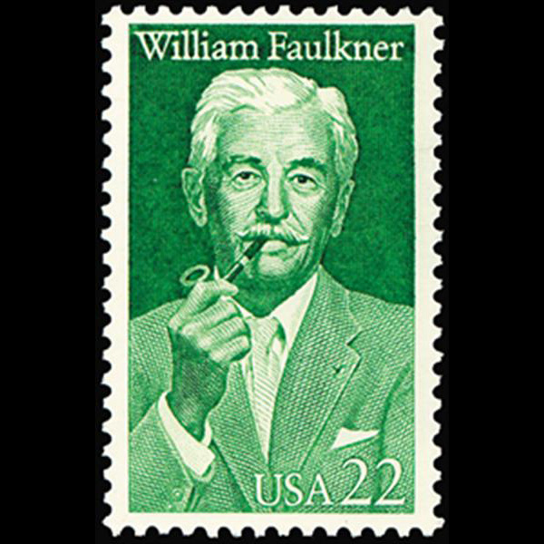 1987 22c William Faulkner Mint Single