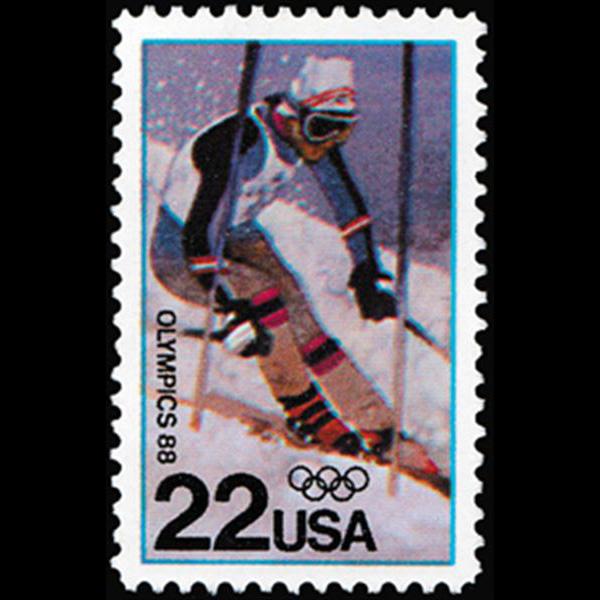 1988 22c Winter Olympics Mint Single