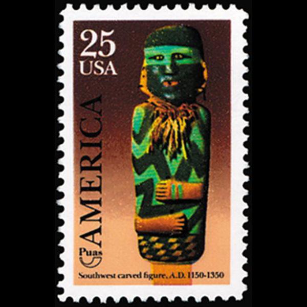 1989 25c Kachina Doll Mint Single