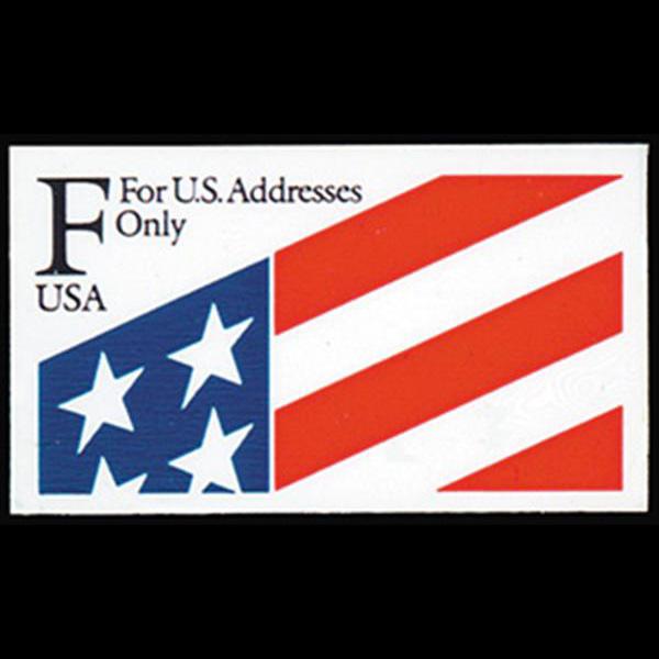 1991 29c F ATM Plastic Stamp Mint Single