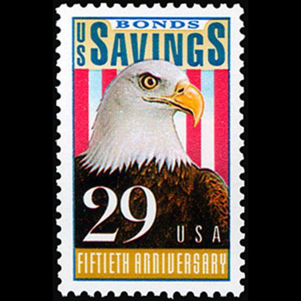 1991 29c Savings Bond Mint Single