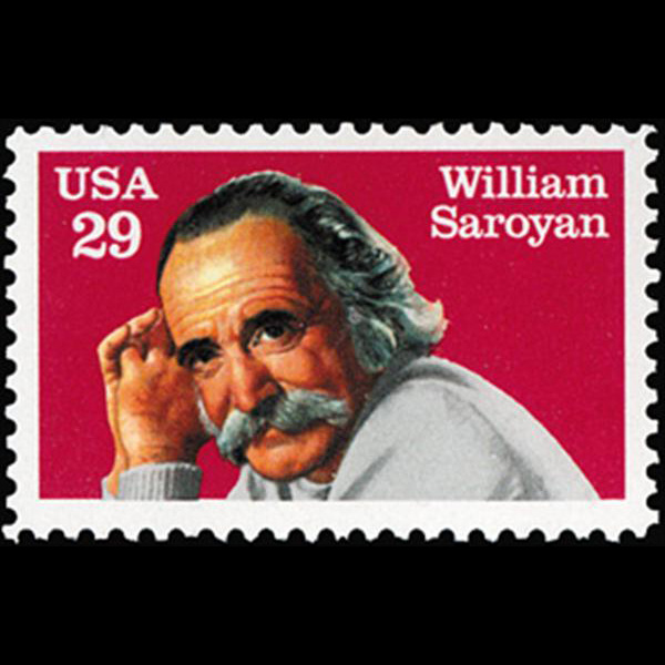 1991 29c William Saroyan Mint Single