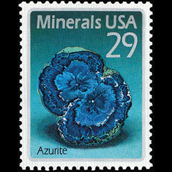 1992 29c Azurite Mint Single