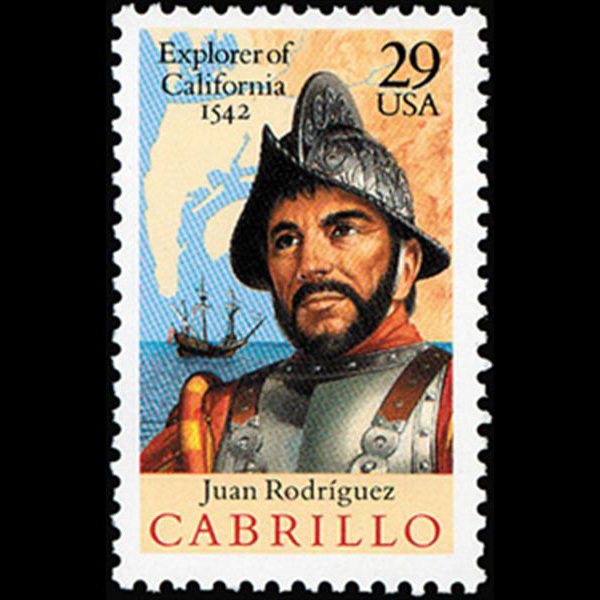 1992 29c Juan Rodriguez Cabrillo Mint Single
