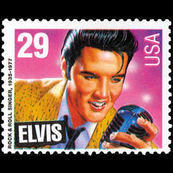 1993 29c Elvis Presley Mint Single