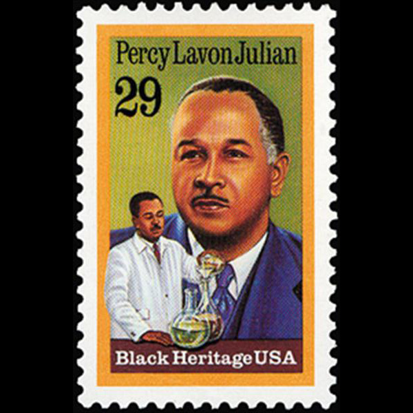 1993 29c Percy Lavon Julian Mint Single