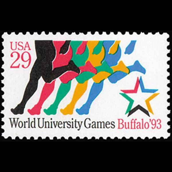 1993 29c World University Games Mint Single