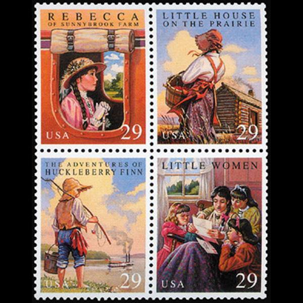 1993 29c Youth Classics Mint Block