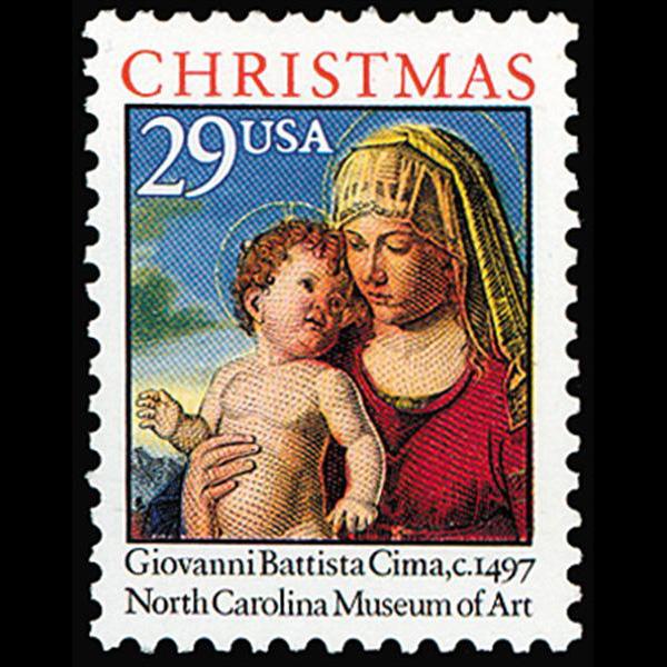 1993 29c Christmas Traditional Mint Single